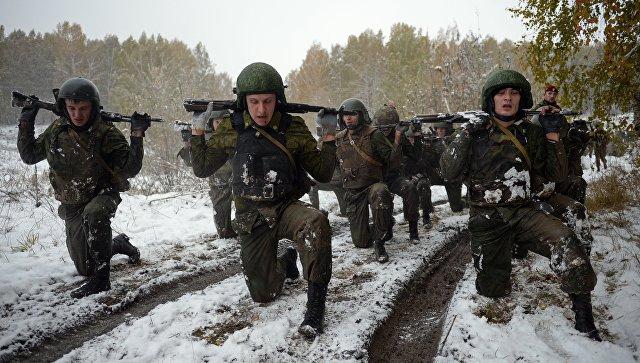 Военнослужащие Росгвардии. Архивное фото
