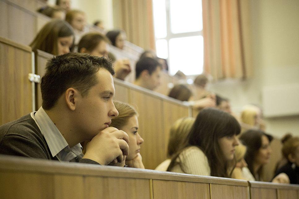 Студенты МГПУ в аудитории