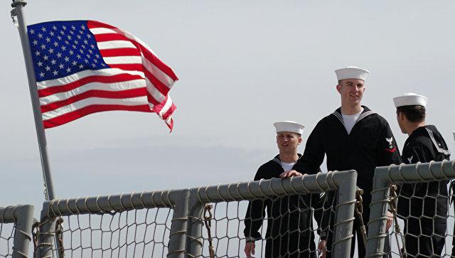 Американские моряки. Архивное фото