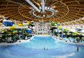 Крупнейший в России крытый аквапарк открылся в Новосибирске