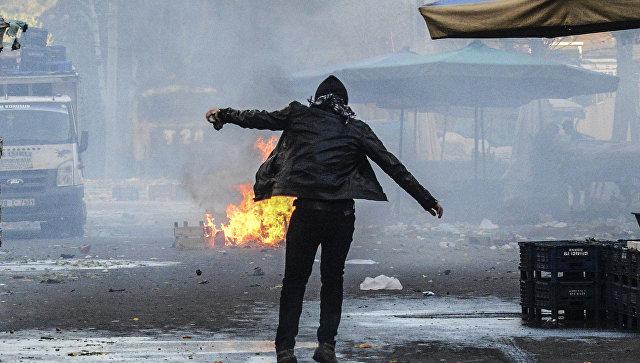 Протесты  в Турции. Архивное фото