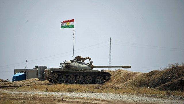 Иракские военные икурдские отряды пешмерга начали наступление под Мосулом