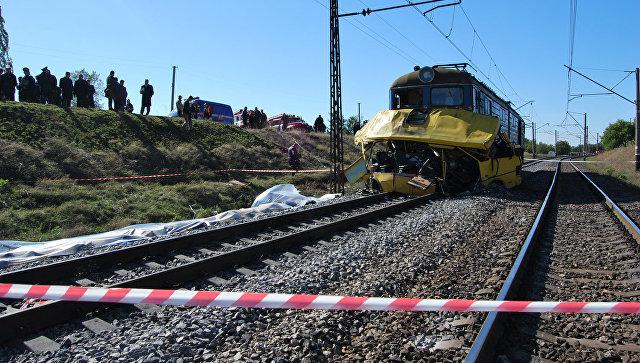 При столкновении споездом шофёр «Москвича» непострадал