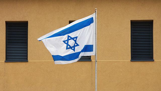 Израильский флаг. Архивное фото