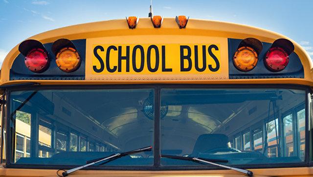 Школьный автобус в США. Архивное фото