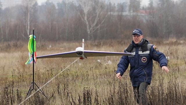 Беспилотник МЧС России
