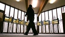 Избирательный участок в Сиэтле, США