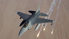 Истребитель F-16 ВВС Бельгии