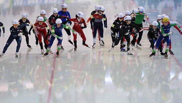 Конькобежный спорт. Чемпионат мира на отдельных дистанциях. Четвертый день