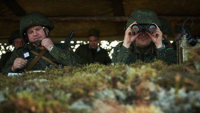Военнослужащие Вооруженных сил Белоруссии. Архивное фото