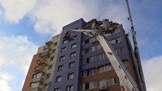 Взрыв газа в жилом доме в Рязани