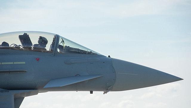 Истребитель Eurofighter. Архивное фото