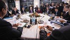 Встреча лидеров стран нормандской четверки в Берлине. 19 октября 2016