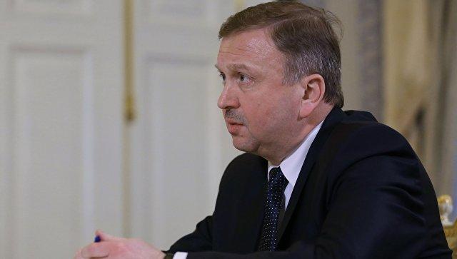 Премьер-министр Белоруссии Андрей Кобяков. Архивное фото