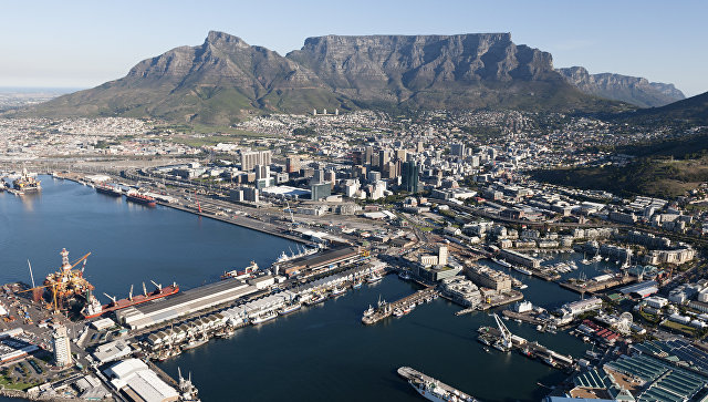Вид на Кейптаун, ЮАР. Архивное фото