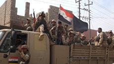 Иракские солдаты вошли в освобожденный от ИГ христианский город под Мосулом