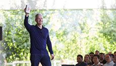 Глава Apple Тим Кук. Архивное фото