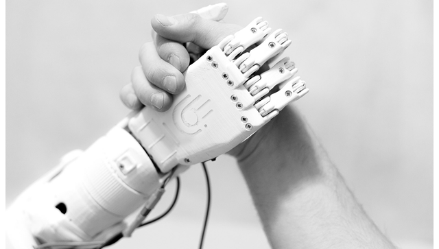 Протез руки, напечатанный на принтере