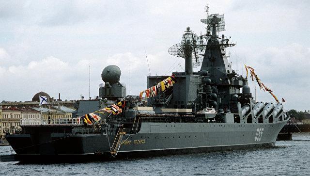 Крейсер «Маршал Устинов» вышел вморе на тестирования после модернизации