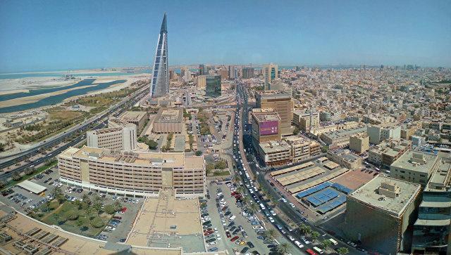 Панорама Манамы. Бахрейн