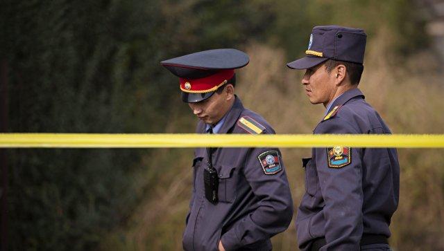 Вкиргизском аэропорту Манас ищут бомбу