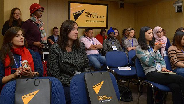 Sputnik запускает мастер-классы для молодых журналистов