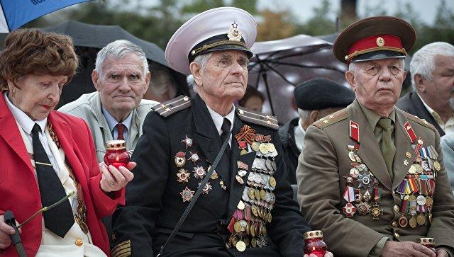 В главном командовании ВКС прошло чествование ветеранов ВОВ