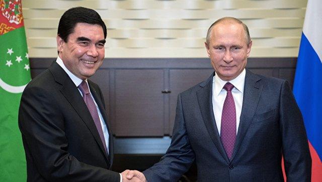 Владимир Путин полетит с рабочим визитом в Туркменистан