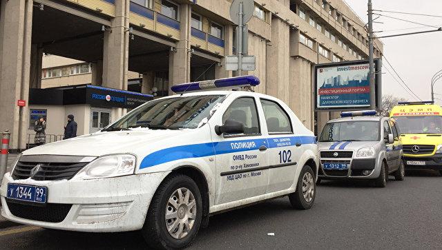В столице вмногоэтажном здании МИА «Россия сегодня» ищут бомбу