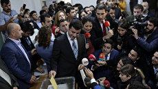 Турецкий лидер Партии демократии народов Селахаттин Демирташ. Архивное фото