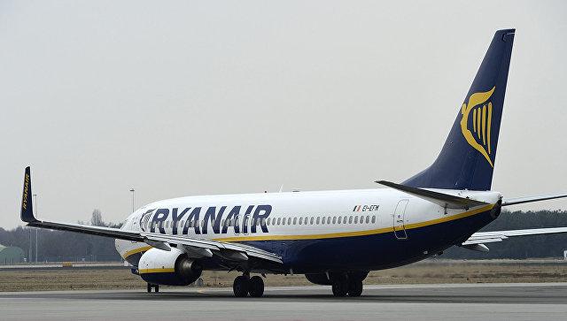 Самолет авиакомпании Ryanair. Архивное фото