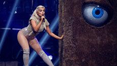 Американская певица Биби Рекса на церемонии вручения премии MTV Europe Music Awards в Роттердаме