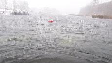 Место аварийной посадки самолета Як-52 на реке Татьянке в Самаре