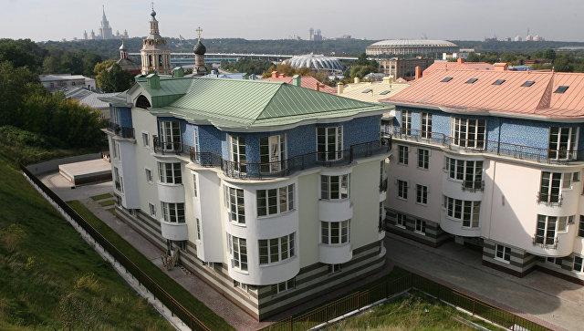 Элитное жилье в Москве. Архивное фото
