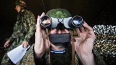 Российские военнослужащие. Архивное фото