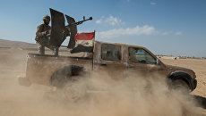 Автомобиль Сирийской арабской армии. Архивное фото
