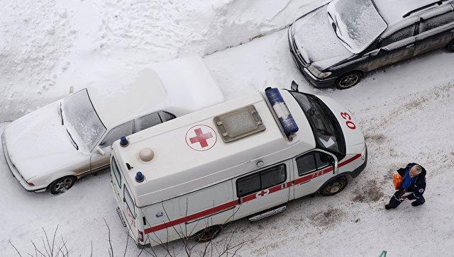 Машина скорой медицинской помощи. Архивное фото