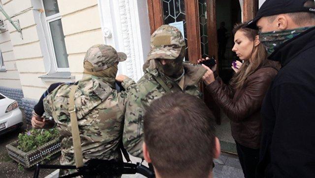 ФСБ обнародовала кадры сзадержанием украинских диверсантов вСевастополе