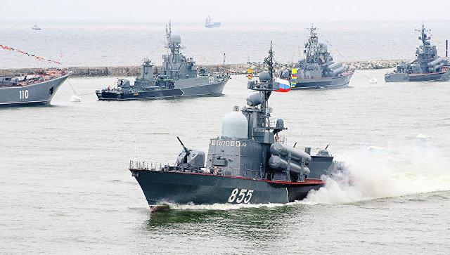 Отряд боевых кораблей Балтфлота. Архивное фото