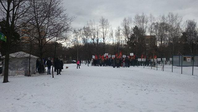 СКРФ возбудил уголовное дело вотношении лидера протестного движения парка «Торфянка»