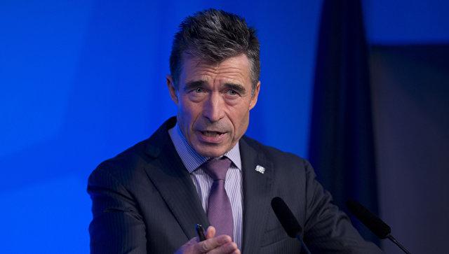 Бывший генеральный секретарь НАТО Андерс Фог Расмуссен. Архивное фото