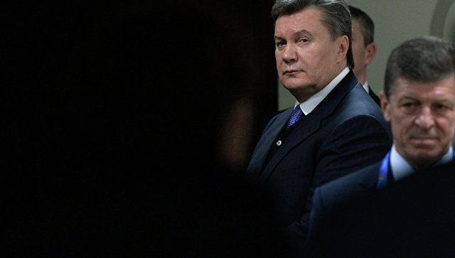 Янукович просит полицию составить протокол наЛуценко