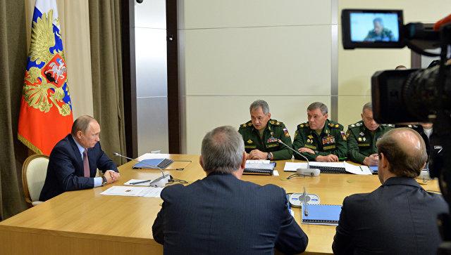Путин пояснил Минобороны РФ, как использовать полученный вСирии опыт