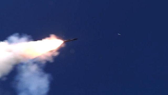 Пуск крылатой ракеты. Архивное фото