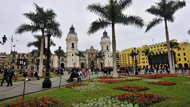 Лима. Перу. Архивное фото