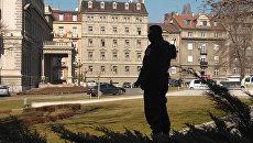 Вид на президентский дворец в Белграде. Архивное фото