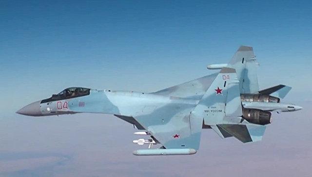 Самолет Су-30 ВКС России в Сирии. Архивное фото