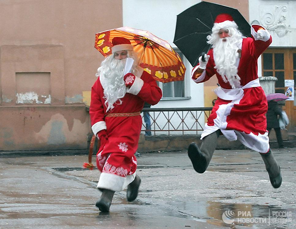 Седьмые Олонецкие игры Дедов Морозов прошли в городе Олонец