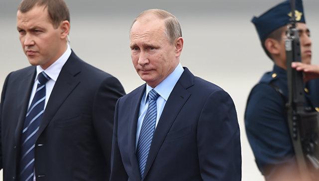 Президент России Владимир Путин в Перу. Архивное фото