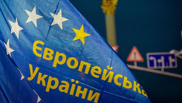 Акции сторонников евроинтеграции Украины на площади Независимости в Киеве. Архивное фото